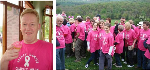 Rainbow Breast Cancer Reconstruction Group Walk