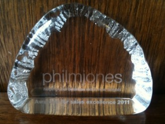 Phil M Jones Award for Sales Excellence