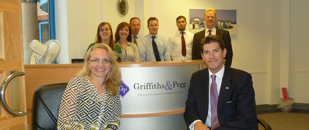 Chris Kelly MP visits our New Office